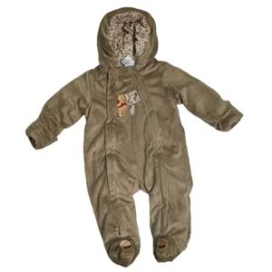 Disney Store One Piece Footed Winter Suit 6-9m